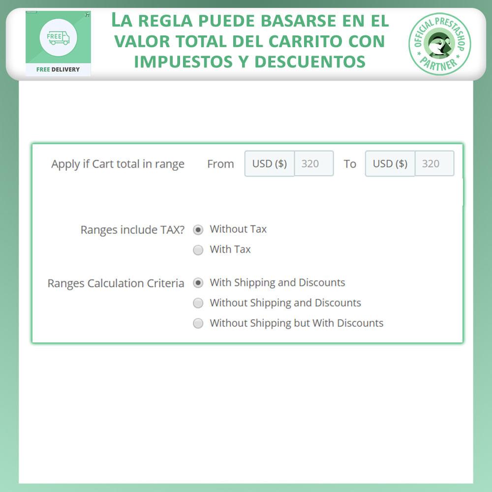 module - Gastos de transporte - Envío Gratuito Anticipado - 4