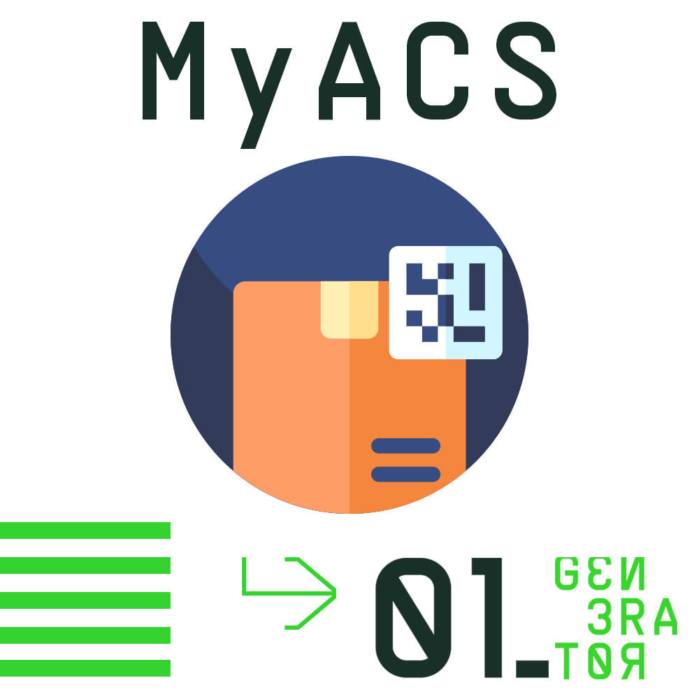 module - Shipping Carriers - MyACS Greek Voucher Print and Cost calculation - 1