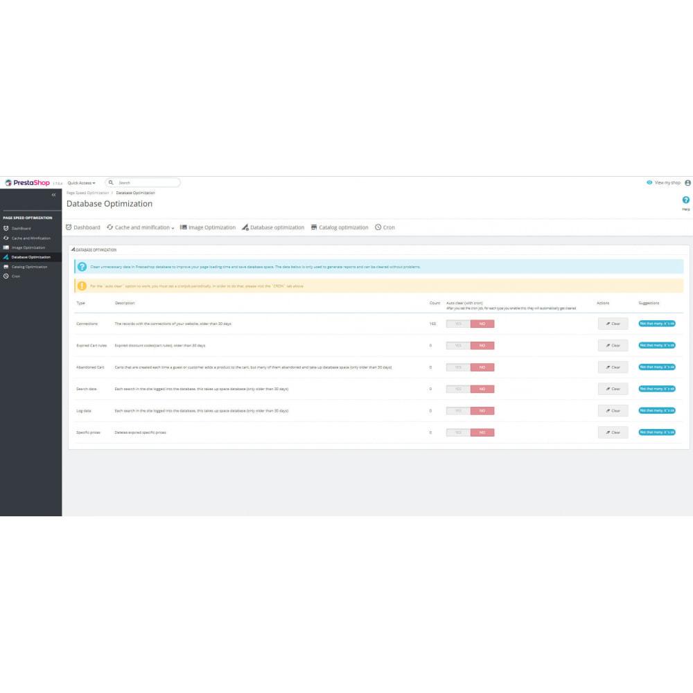 module - Website Performance - Page Cache & Image WebP - Google Insights & GTmetrix - 10