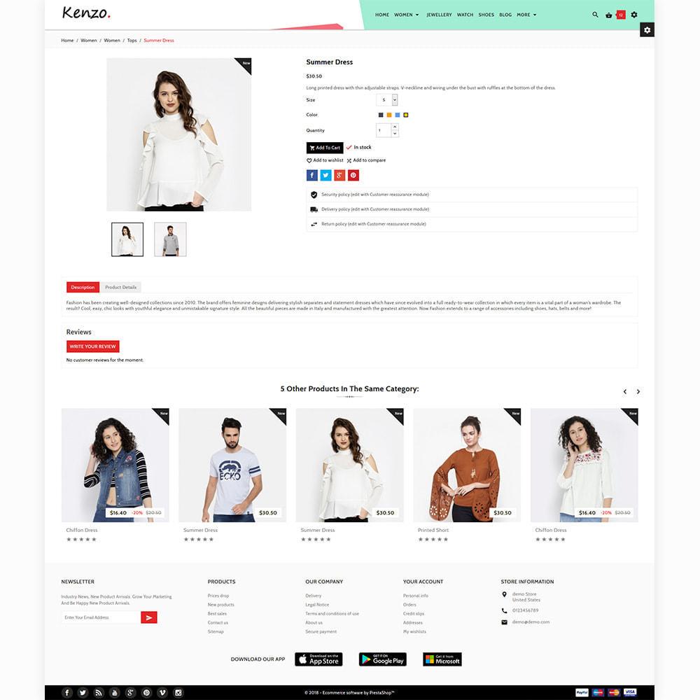 theme - Moda & Calzature - Kenzo - Stylo Fashion Shop - 5