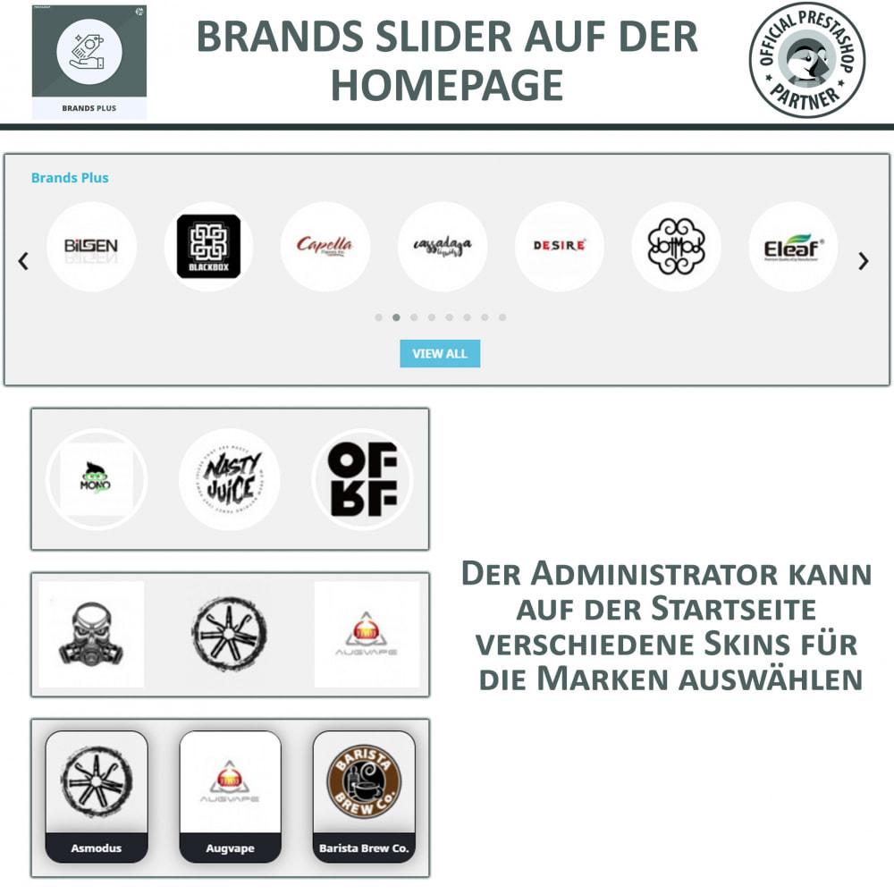 module - Marken & Hersteller - Brands Plus – Marken- & Herstellerkarussell - 3