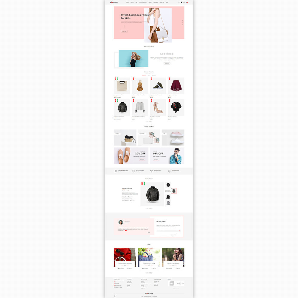 theme - Fashion & Shoes - LookLoop - Fashion & Lifestyle Store For Women & Men - 2