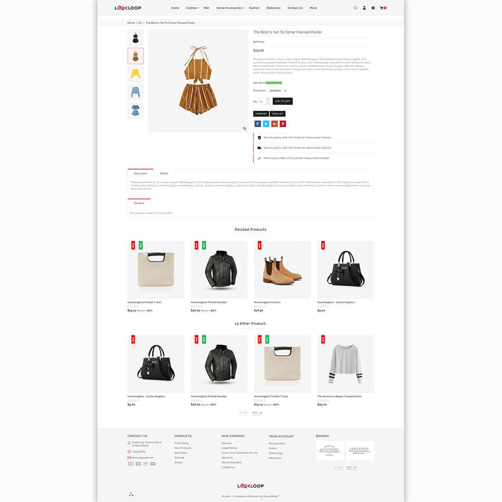 theme - Fashion & Shoes - LookLoop - Fashion & Lifestyle Store For Women & Men - 5