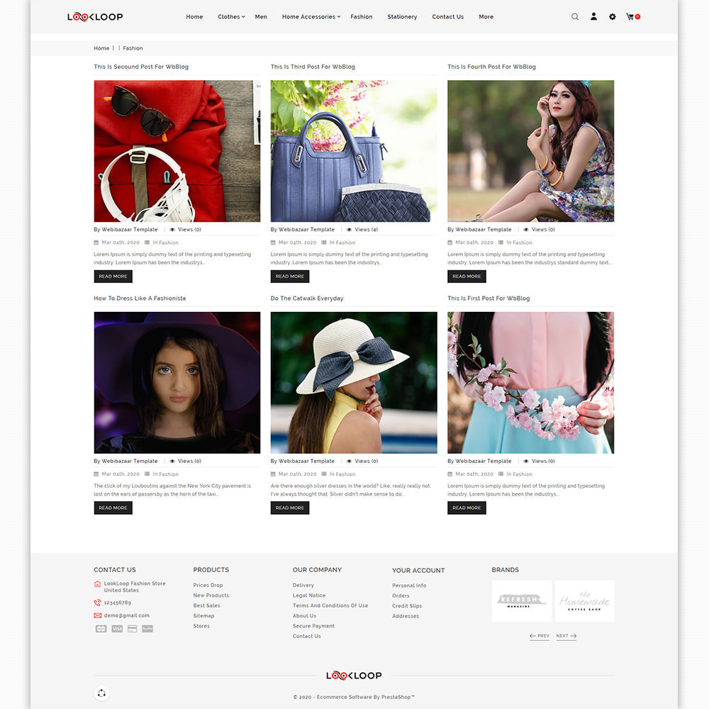 theme - Moda & Calçados - LookLoop - Fashion & Lifestyle Store For Women & Men - 6