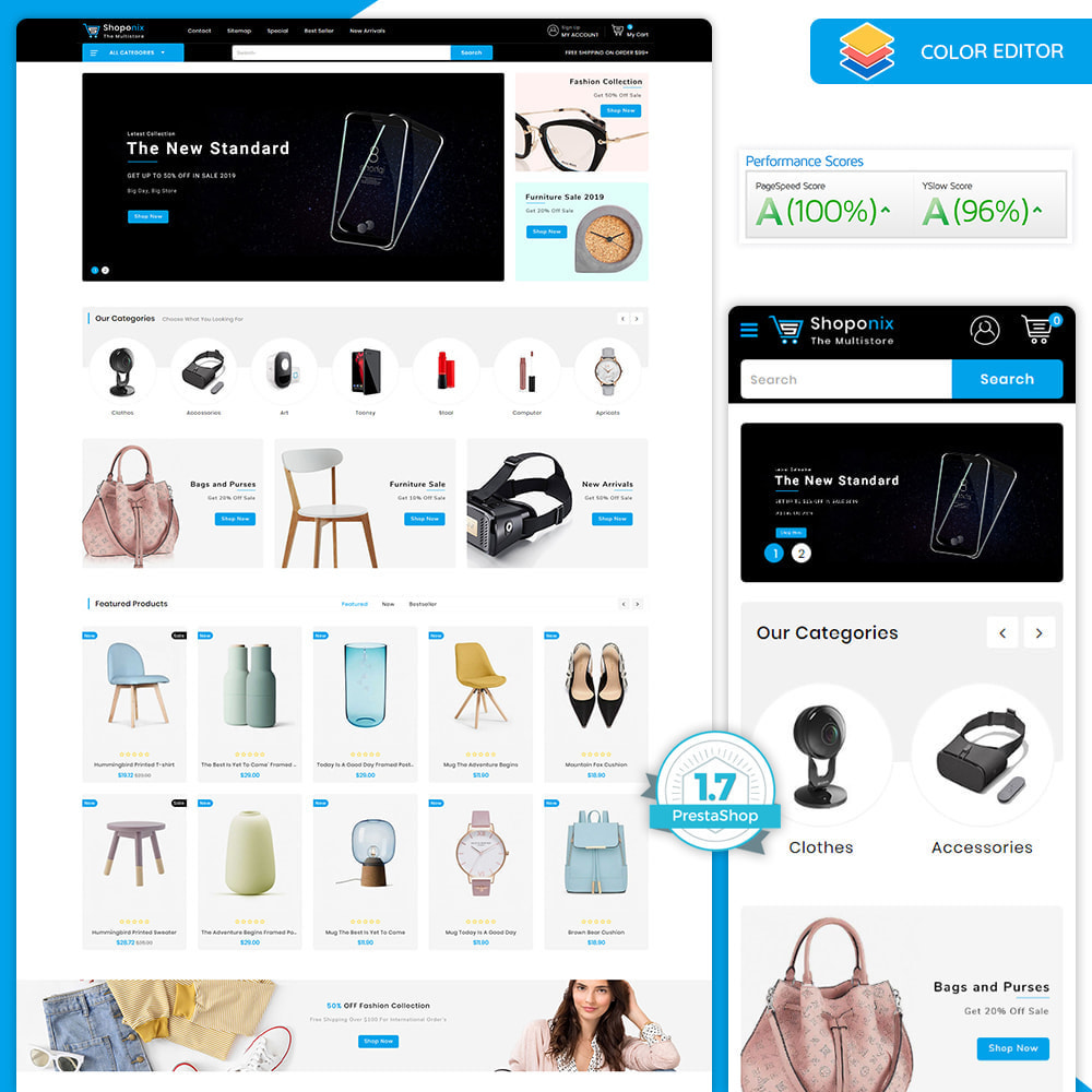 theme - Электроника и компьютеры - Shoponix - Multi-Purpose Electronic Super Store - 1