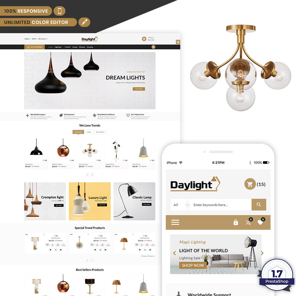 theme - Arte e Cultura - Daylight - Lighting Shop - 1