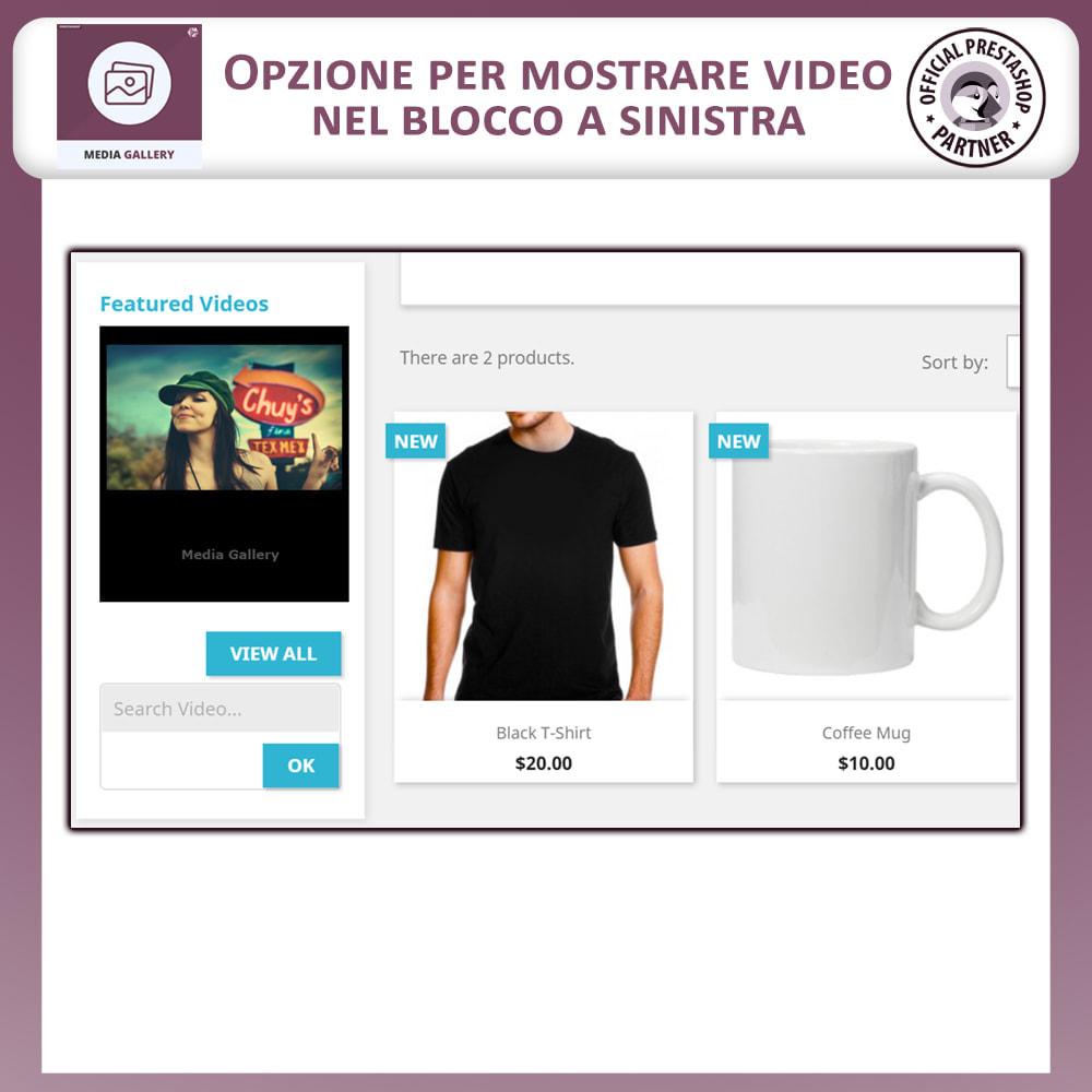 module - Prodotti Digitali - Galleria di Media – Galleria Video - 7