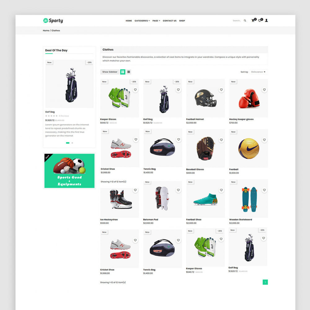 theme - Спорт и Путешествия - Sporty - The Sports, Travel & Fashion Base Store - 3