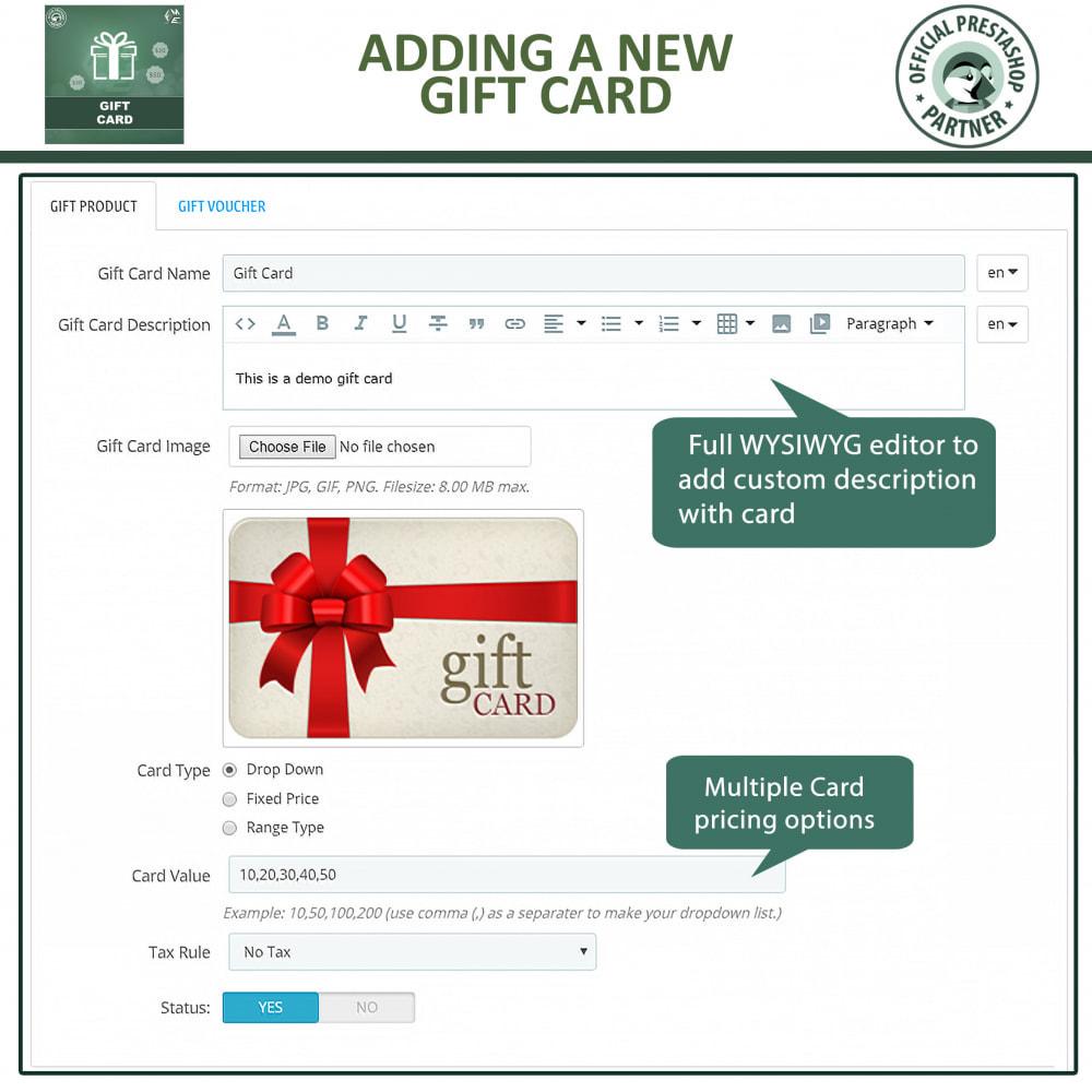 module - Wishlist & Gift Card - Gift Card Module - Gift Certificates & Vouchers - 8
