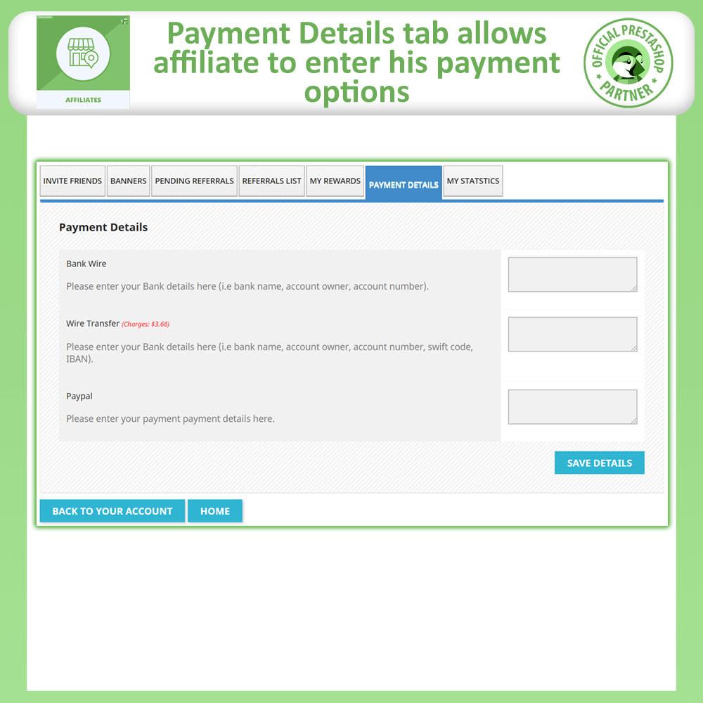 module - SEA SEM pago & Filiação - Affiliates Pro, Affiliate & Referral Program - 9