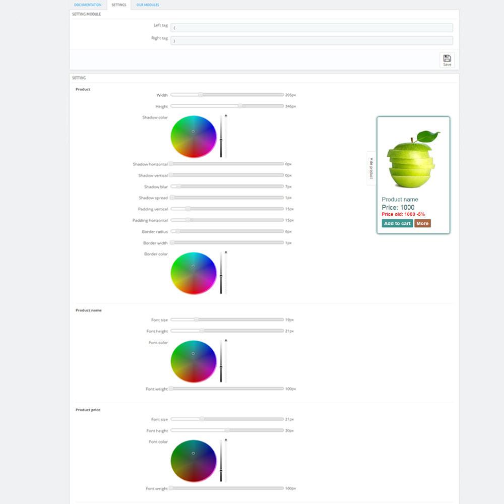module - Zarządzanie produktami na stronie głównej - Produkty na stronach CMS - 7