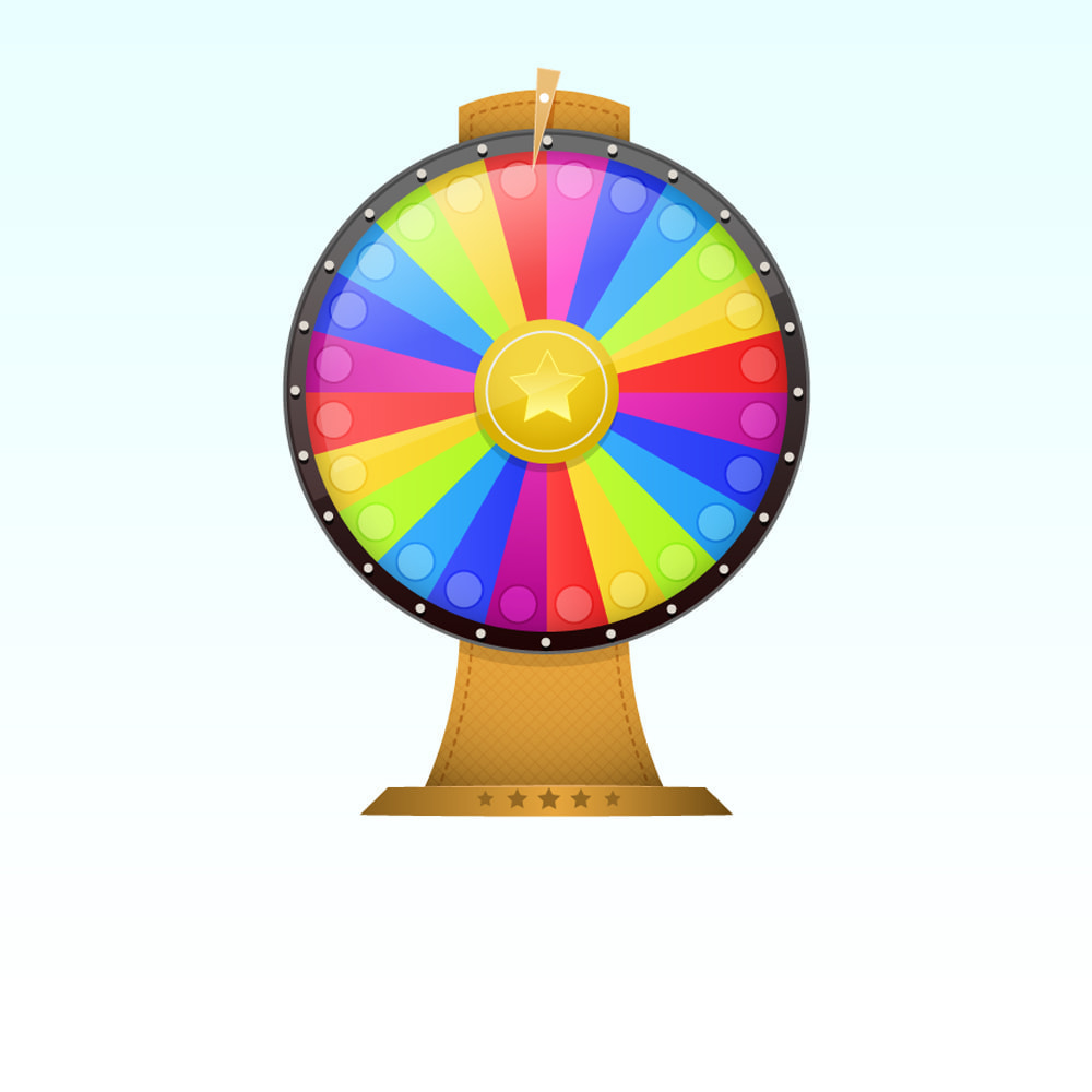 module - Wedstrijden - Wheel of Fortune, discounts and gifts to customers - 1