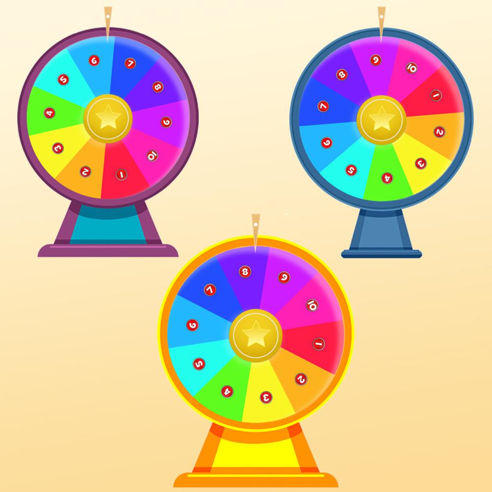 module - Jeux-concours - Roue de la Fortune, remises et cadeaux aux clients - 9