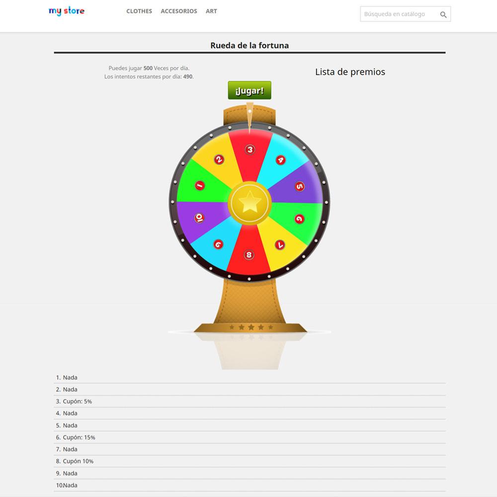 module - Concurso - Wheel la Fortuna, descuentos y regalos a los clientes - 3