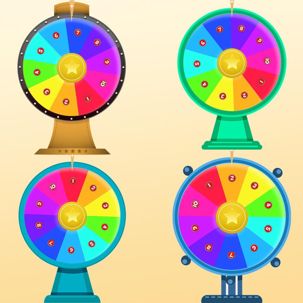 module - Игр-конкурсов - Колесо фортуны, скидки и подарки покупателям - 8