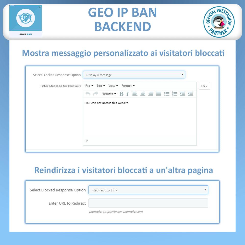 module - Security & Access - GeoIP Ban, Blocca Bot e Utenti per indirizzo IP o Paese - 3