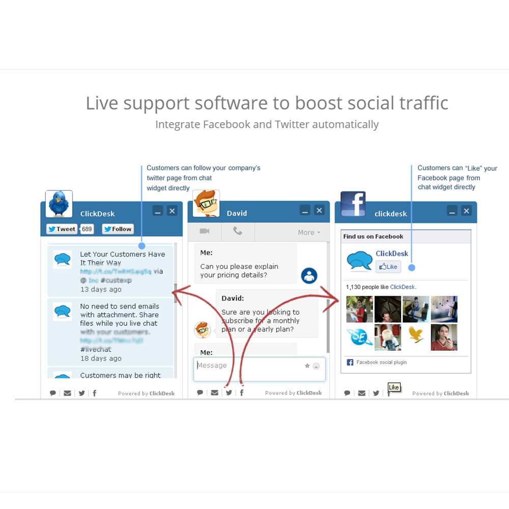 module - Supporto & Chat online - ClickDesk - Free LiveChat and Help Desk - 3