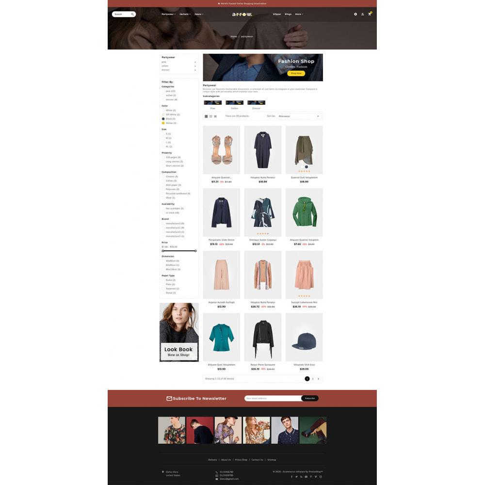 theme - Moda & Calçados - Arrow - Fashion Studio - 3