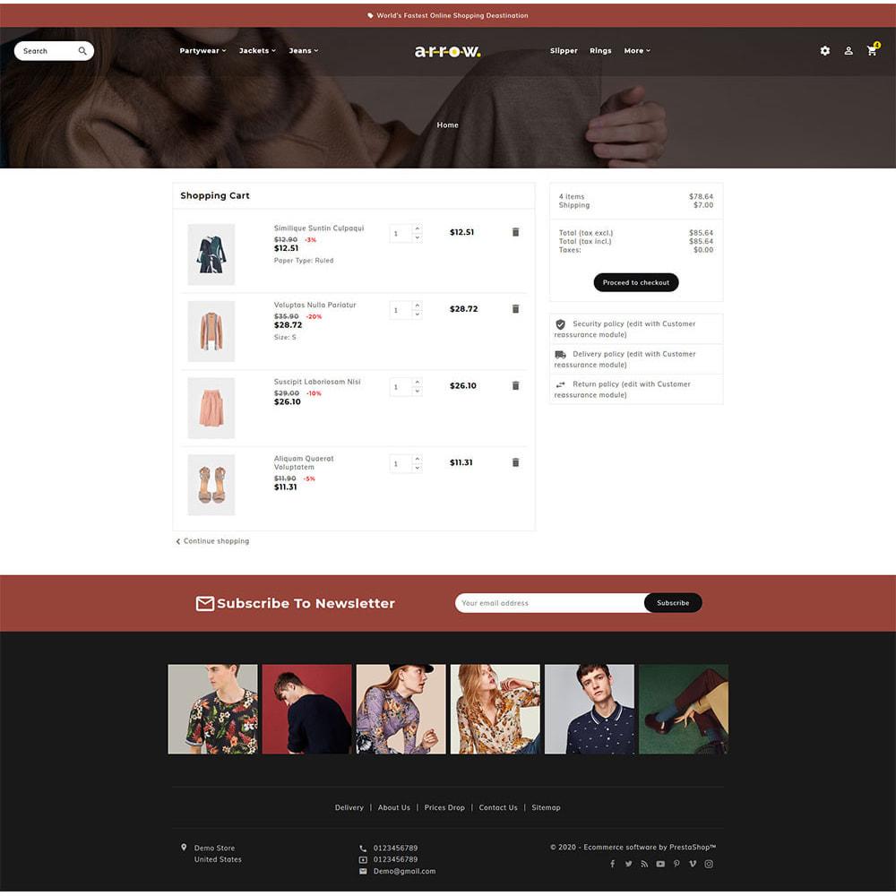 theme - Moda & Calçados - Arrow - Fashion Studio - 7