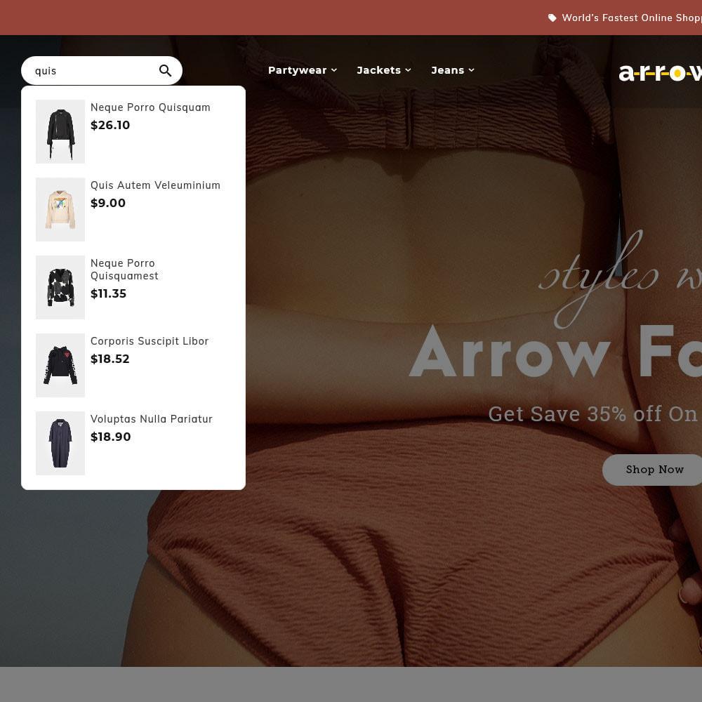 theme - Moda & Calçados - Arrow - Fashion Studio - 11