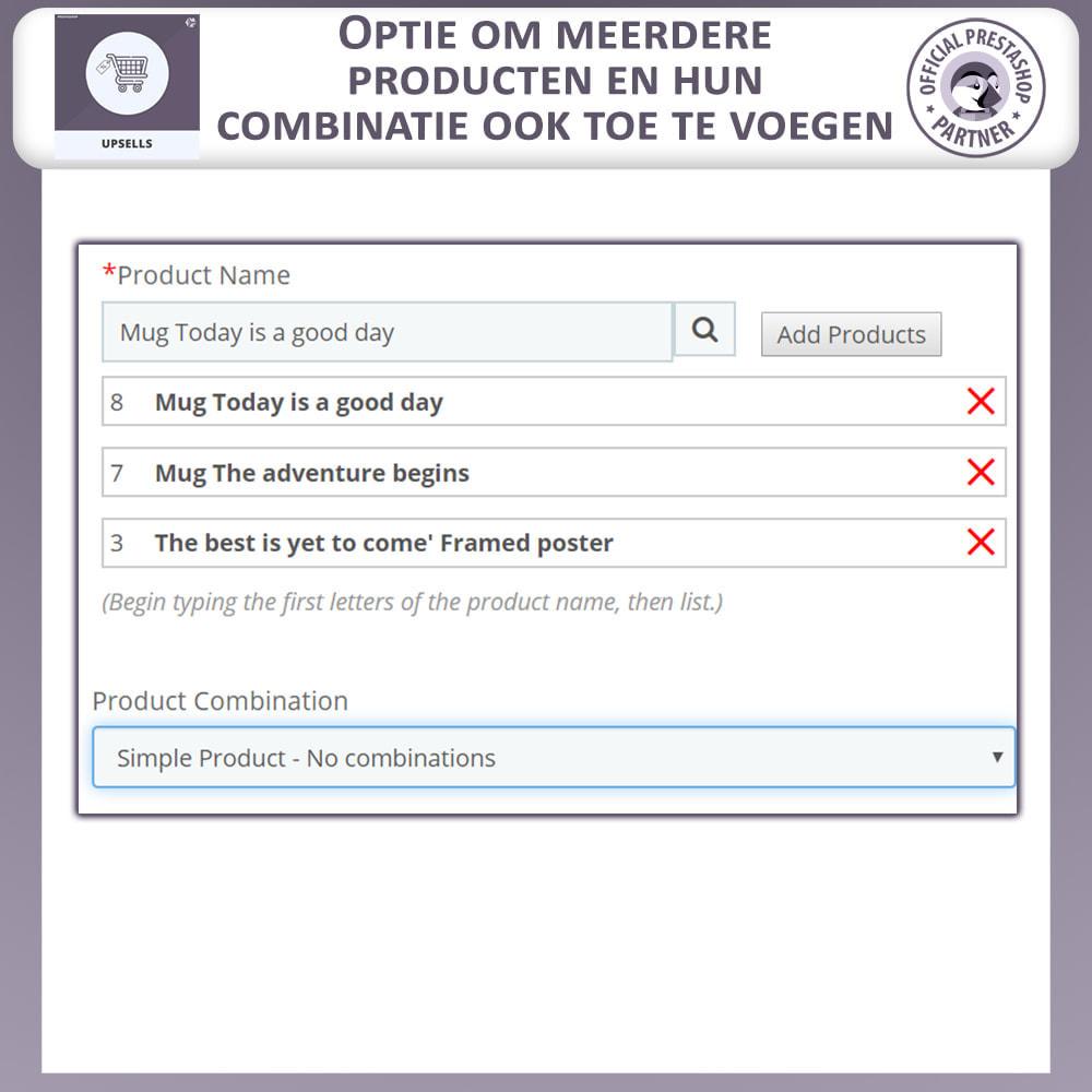 module - Kruisverkoop & Pakketaanbiedingen - Upsell-Producten - Duw Op Winkelwagen - 3