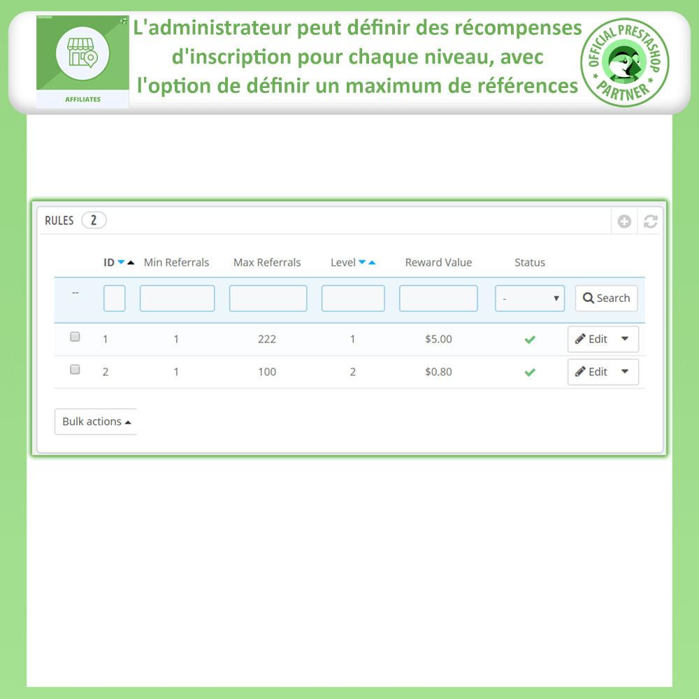 module - Référencement payant (SEA SEM) & Affiliation - Affiliés, Gestion de programme d'affiliation anticipée - 17