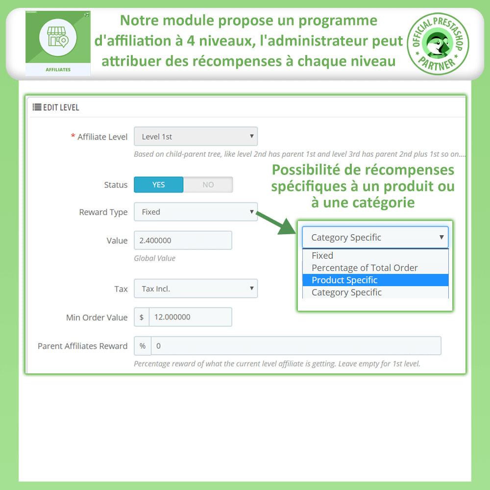 module - Référencement payant (SEA SEM) & Affiliation - Affiliés, Gestion de programme d'affiliation anticipée - 18