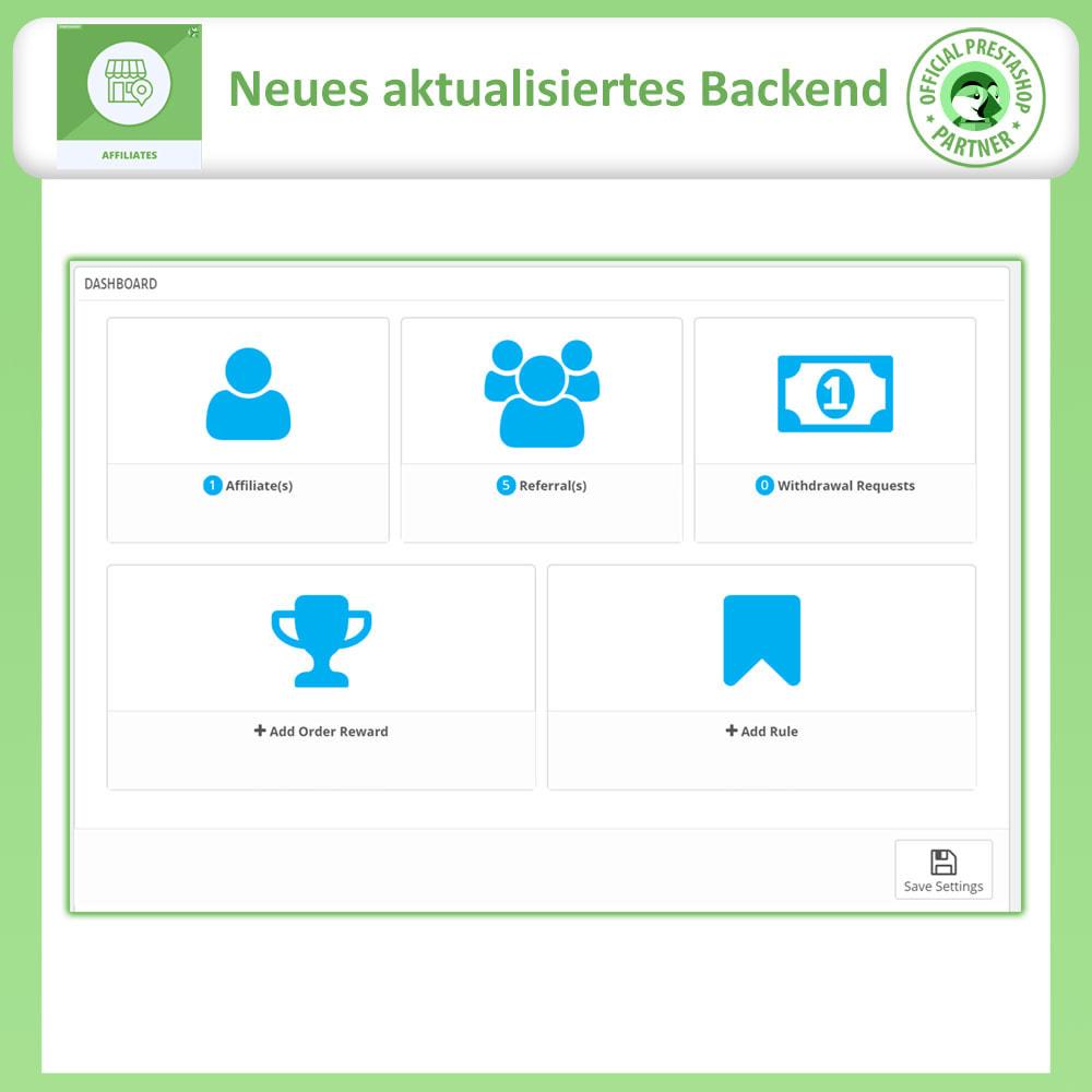 module - SEA SEM (Bezahlte Werbung) & Affiliate Plattformen - Affiliates Pro, Partner- und Empfehlungsprogramm - 11