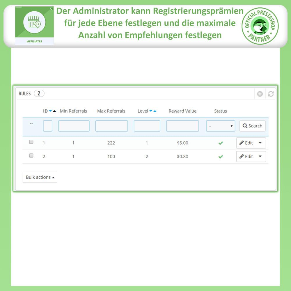 module - SEA SEM (Bezahlte Werbung) & Affiliate Plattformen - Affiliates Pro, Partner- und Empfehlungsprogramm - 17