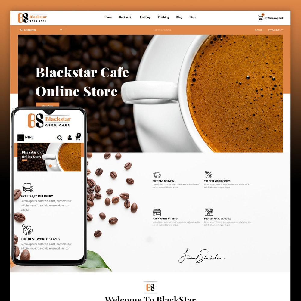 theme - Bebidas & Tabaco - Blackstar - Coffee Store - 1