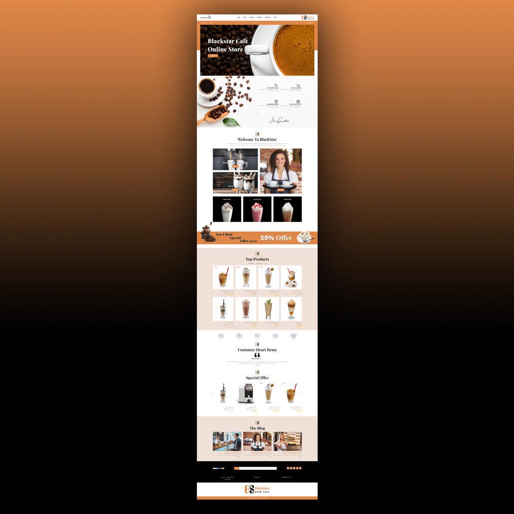 theme - Drink & Tobacco - Blackstar - Coffee Store - 9
