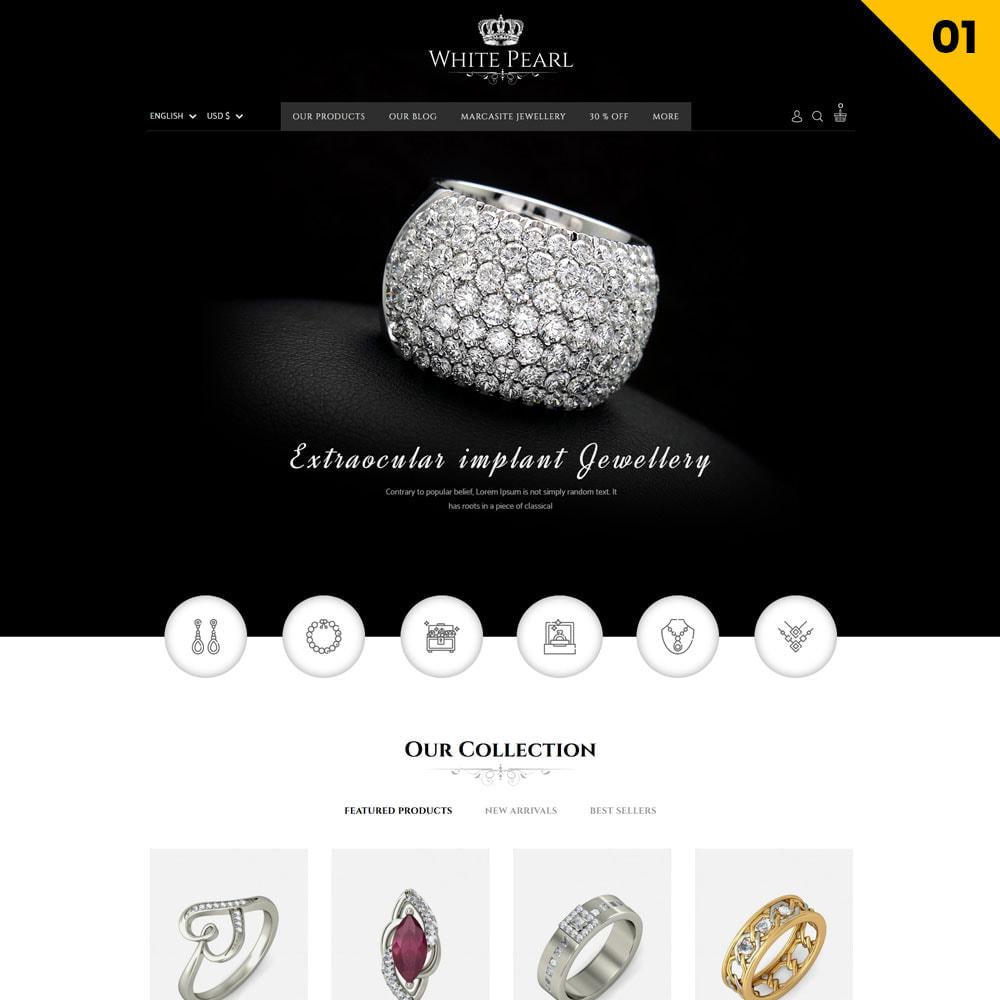 theme - Bellezza & Gioielli - Whitepearl - La gioielleria - 3