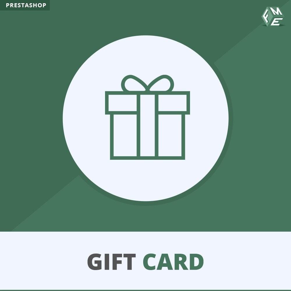 module - Список желаний и Подарочный купон - Подарочная карта - 1