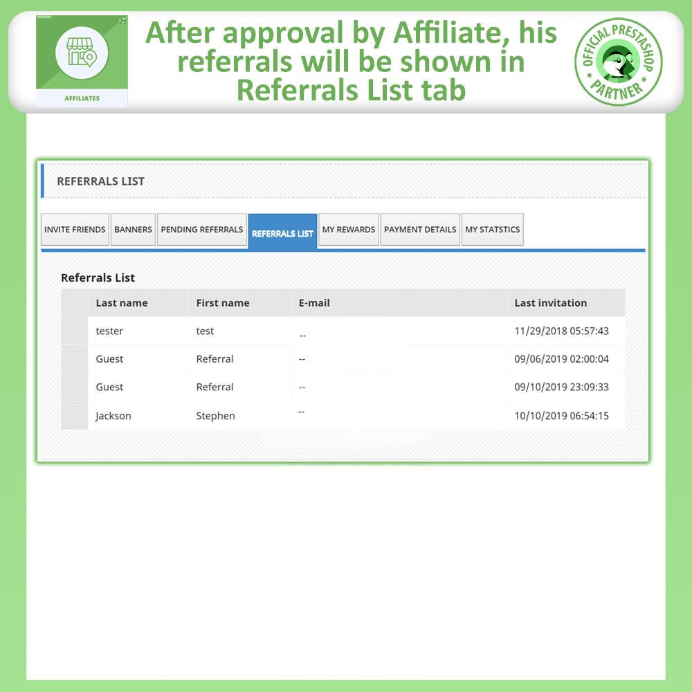 module - SEA SEM pago & Filiação - Affiliates Pro, Affiliate & Referral Program - 7