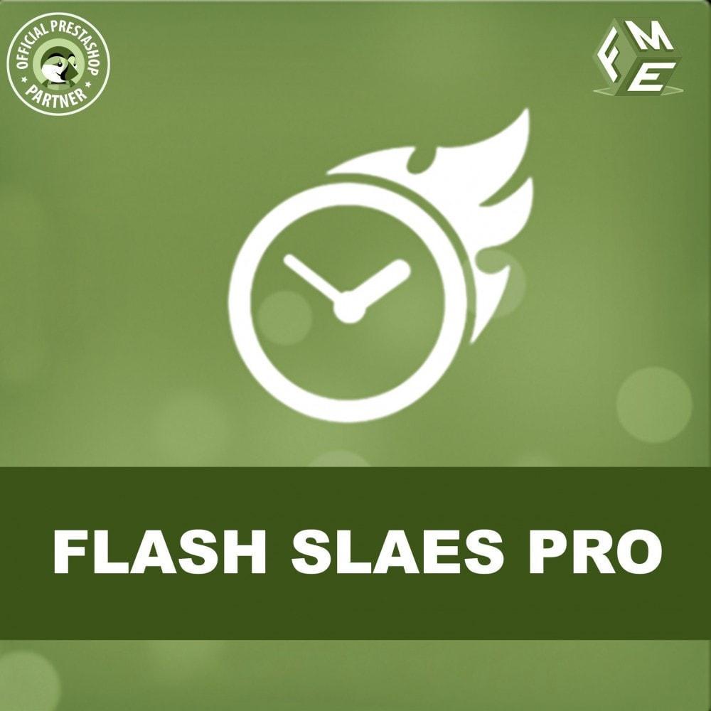 module - Uitverkoop & Besloten verkoop - Flash Sales Pro - Korting met een Aftel Timer - 1