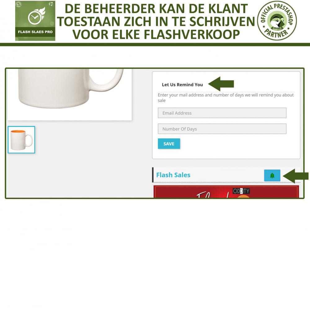 module - Uitverkoop & Besloten verkoop - Flash Sales Pro - Korting met een Aftel Timer - 6