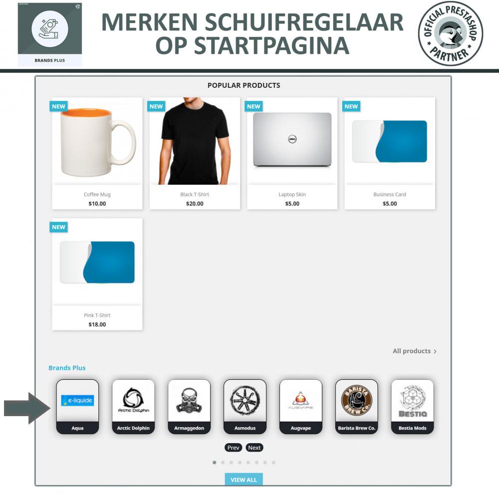 module - Merken & Fabrikanten - Brands Plus - Responsieve Carrousel - 2