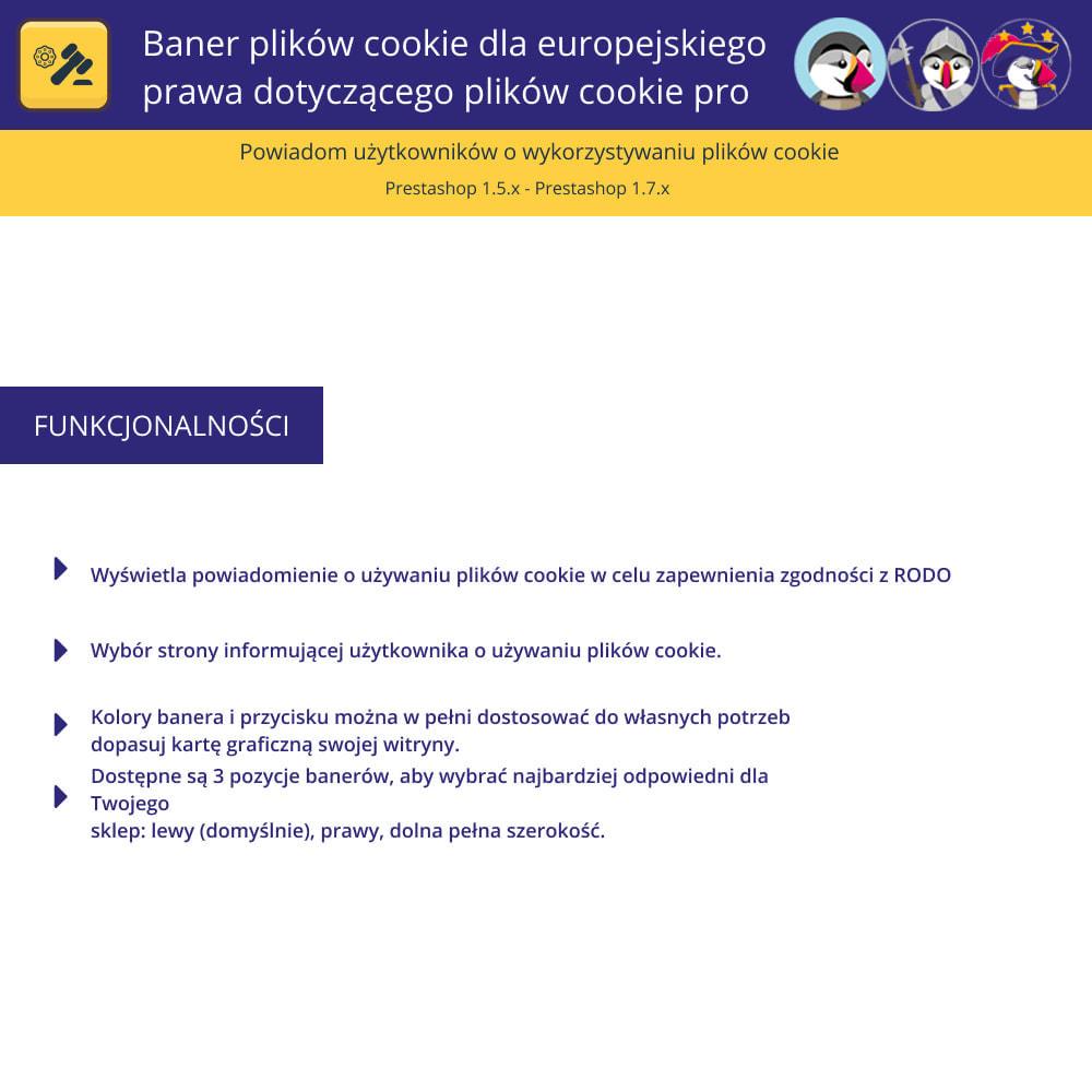 module - Wzmianki prawne - Baner plików cookie dla prawa europejskiego - 1