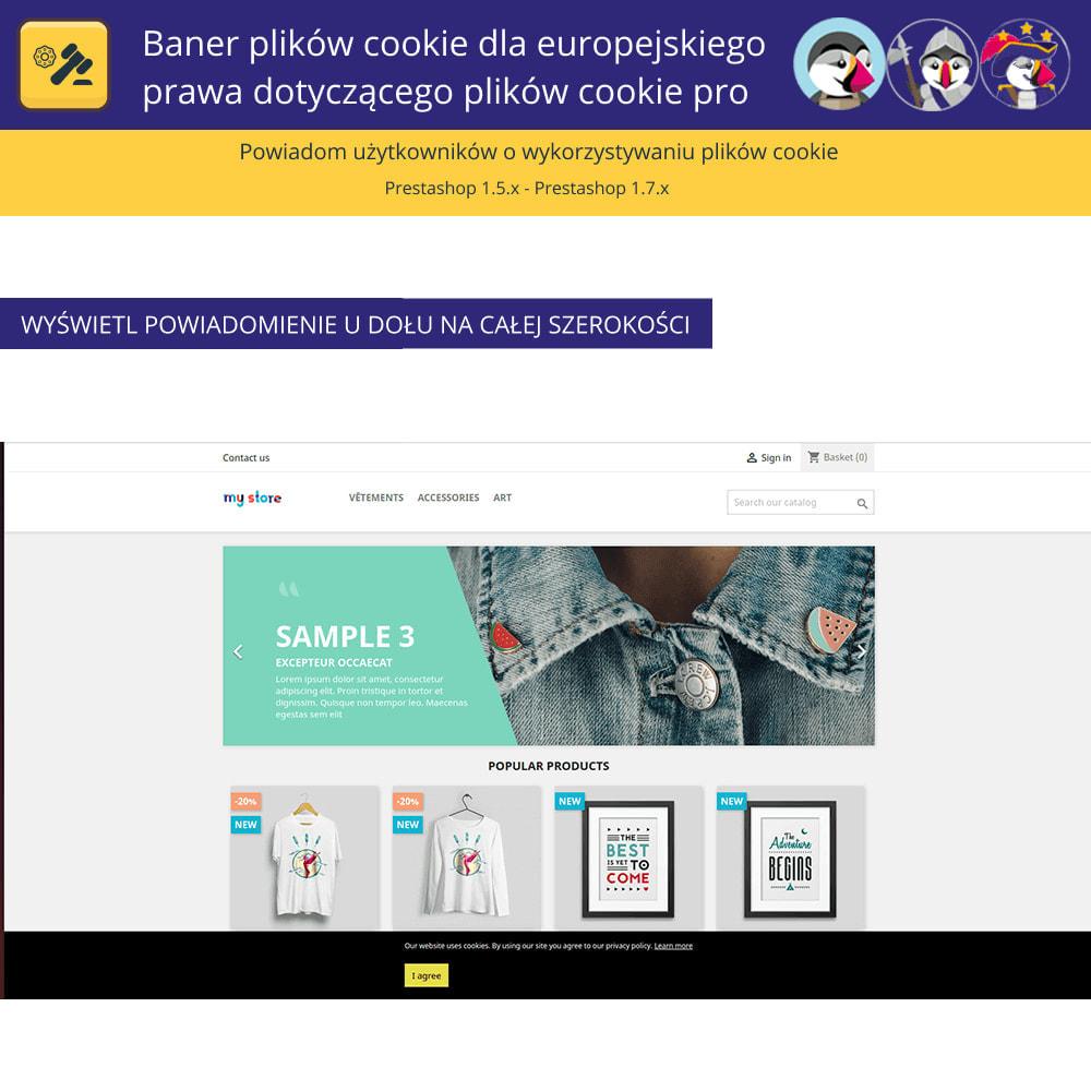module - Wzmianki prawne - Baner plików cookie dla prawa europejskiego - 4