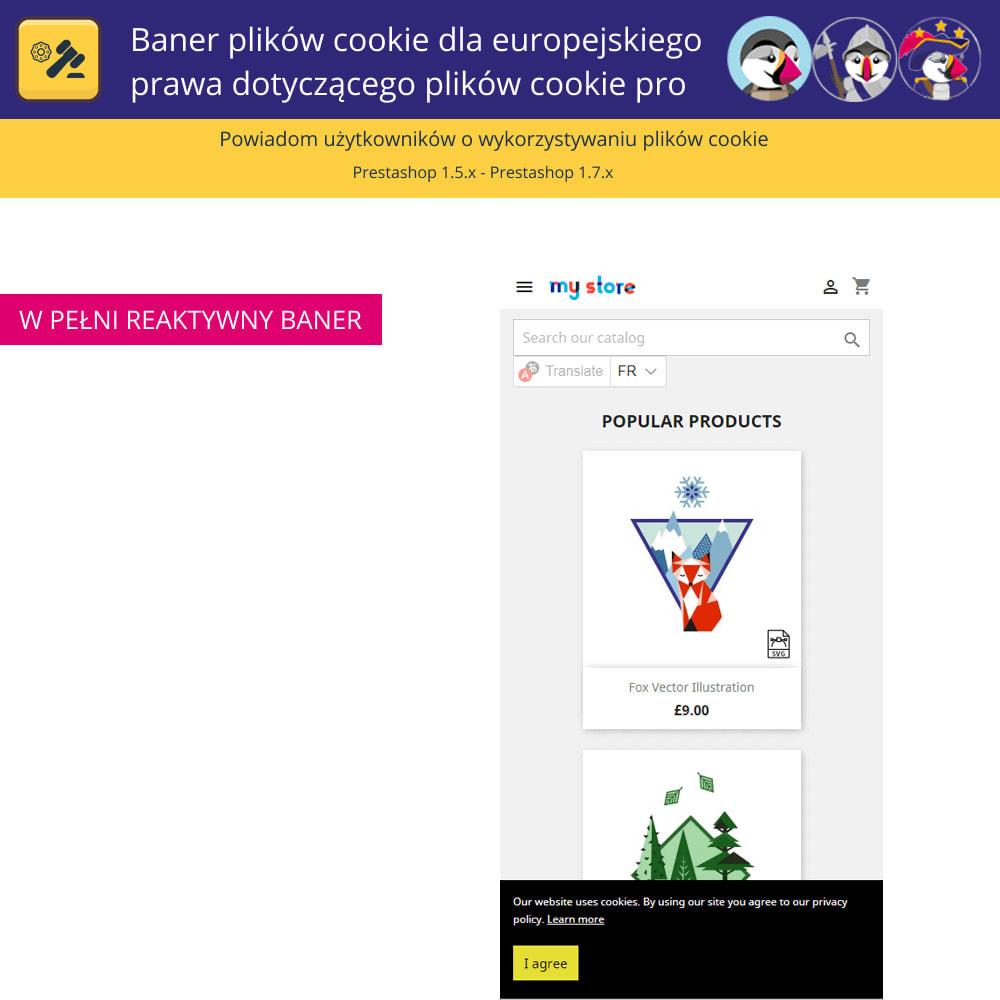module - Wzmianki prawne - Baner plików cookie dla prawa europejskiego - 5