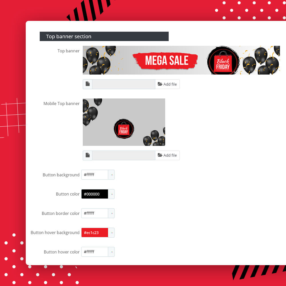 module - Promoties & Geschenken - Flash SALES Page Builder PRO - Black Friday - 19