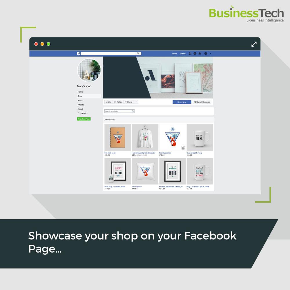 module - Produkty w serwisach społecznościowych - Facebook Dynamic Ads + Pixel & Shops - 3