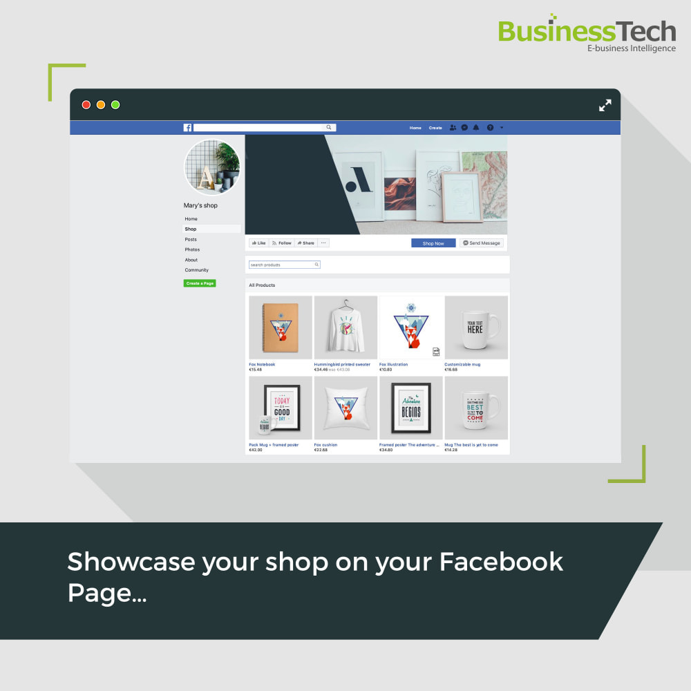module - Produkte in Facebook & sozialen Netzwerken - Facebook Dynamic Ads + Pixel & Shops - 3