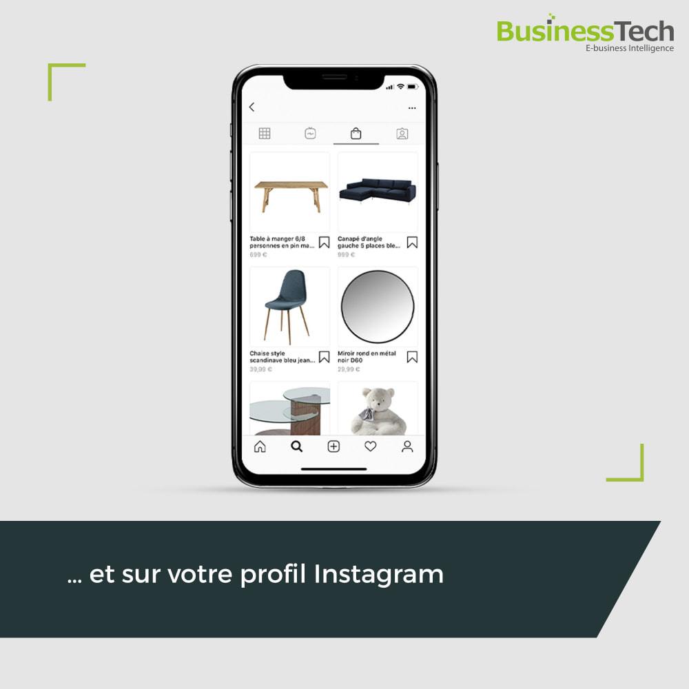 module - Remarketing & Paniers Abandonnés - Dynamic Ads + Pixel & Boutiques Facebook - 4