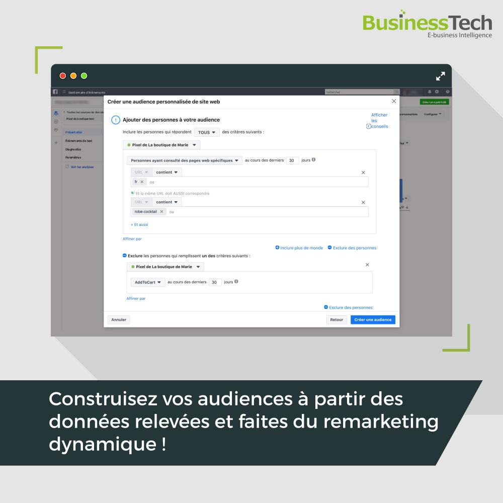 module - Remarketing & Paniers Abandonnés - Dynamic Ads + Pixel & Boutiques Facebook - 10