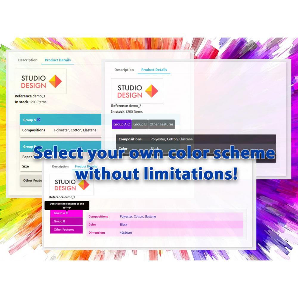 module - Bijkomende Informatie - DataSheet Pro - Product kenmerken - 2