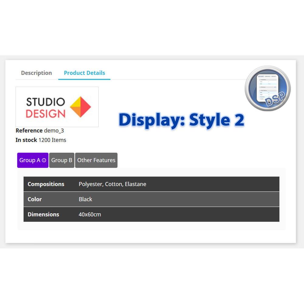 module - Bijkomende Informatie - DataSheet Pro - Product kenmerken - 6