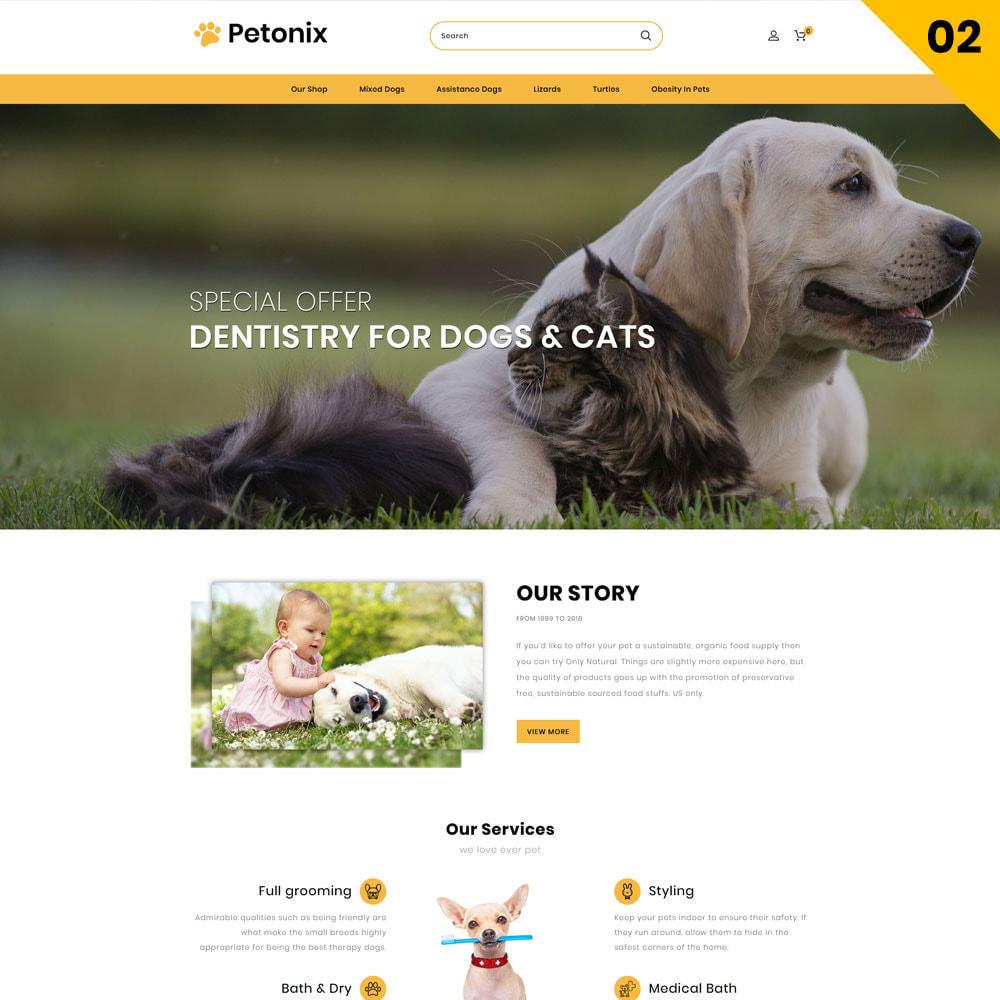 theme - Animals & Pets - Petonix Animal Shop - 4