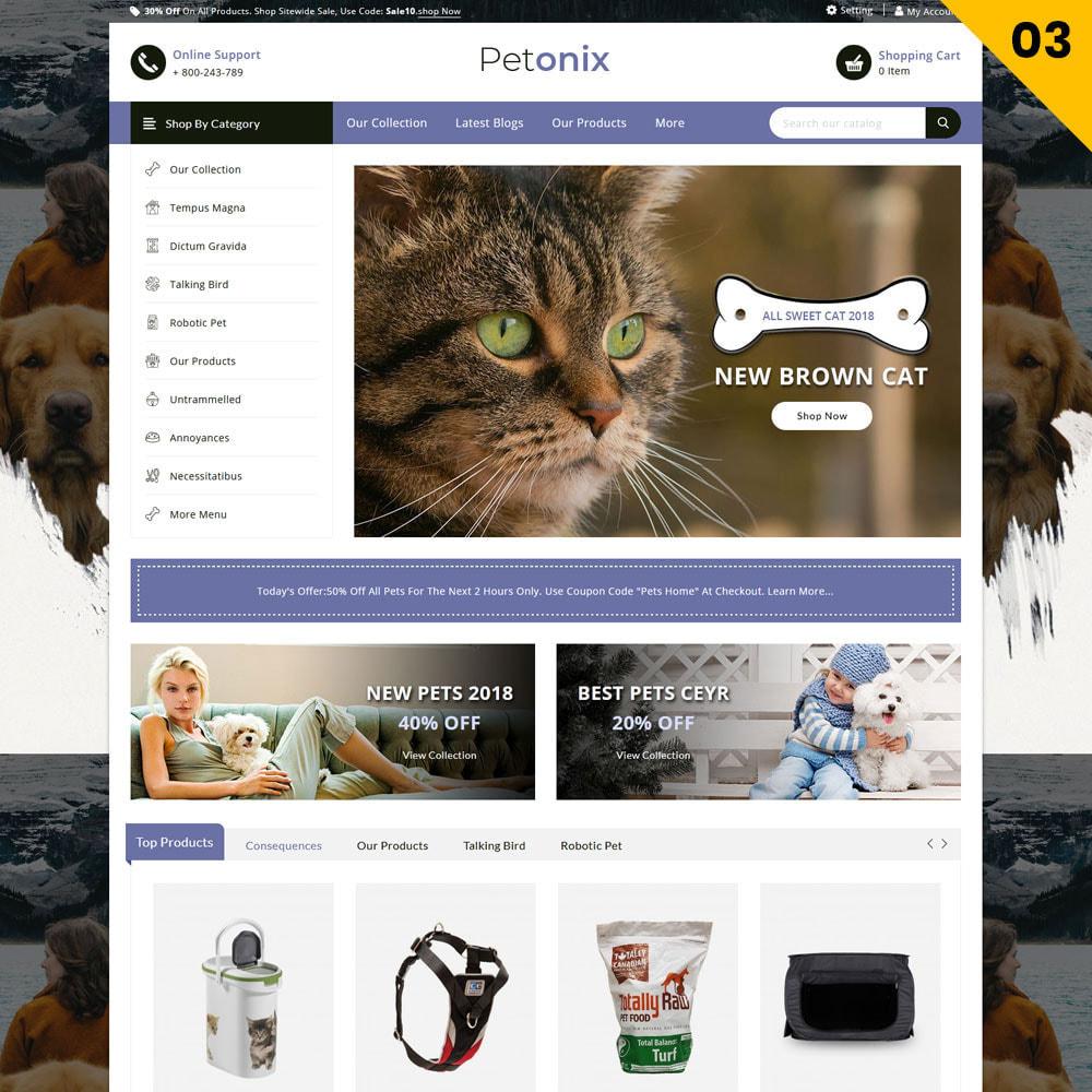 theme - Animales y Mascotas - Petonix tienda de animales - 5