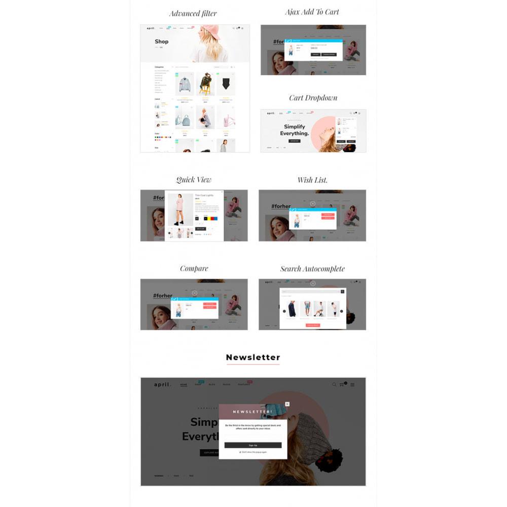 theme - Moda & Calzature - April  Store eCommerce Bootstrap 4 - 7